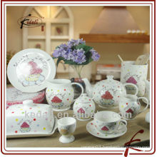 2013 new style ceramic tableware with dot design