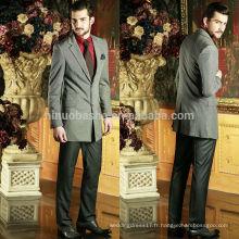 Hommes 2014 Costumes de conception de mode Costumes d'affaires Fabricants en Chine Deux boutons Robes de mariée à manches longues pour hommes NB0575