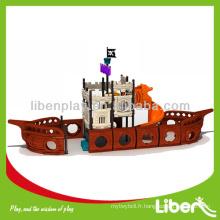 Conception de roman Pirate Ship Series Jouets de jeux en plein air LE-HD017