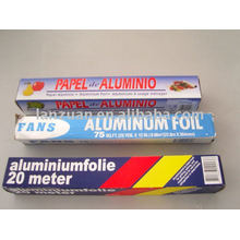 papel de aluminio para laminación