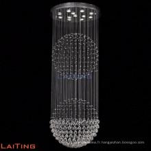 Chute d'eau vintage crIstal pendentif lampe lustre lumière 92023