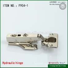 adjustable stainless steel hydraulic kitchen cabinet hinges with airplane base