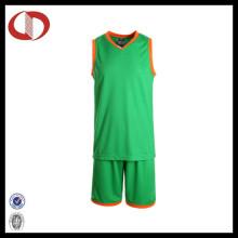 2016 Neuer Art-Mädchen-Basketball-Jersey-konstanter Entwurf