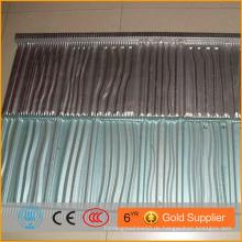 Nigeria Hot Verkauf Villa natürlichen Mosaik Dachziegel Stein beschichtet Metall Dachziegel Maschine in China hergestellt