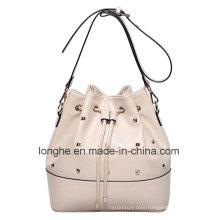 Fashion Rivets Bucket Crossbody Bag (LY0184)