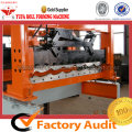 Roofing Tile Forming Machine Making Colored Step Sheet