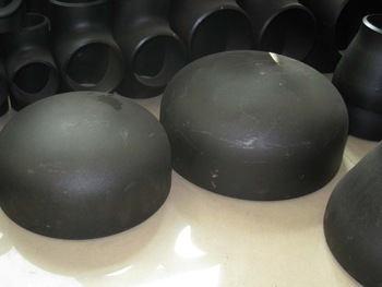 Seamless pipe cap