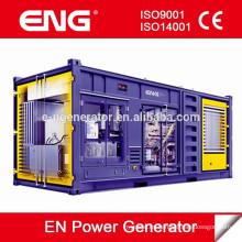 El mejor precio del generador diesel de 1000kva con el toldo del contenedor 20GP