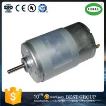 Motor de imán permanente de CC, herramienta eléctrica inalámbrica con un motor de pincel DC, mini motor micro, motor de corriente continua, motor de escobillas de carbón, motor de caja de cambios