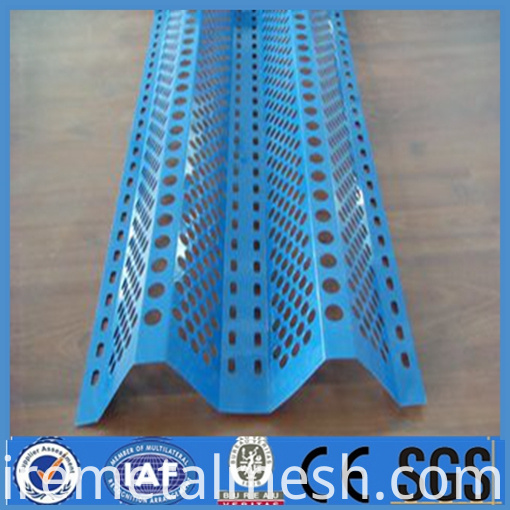 perforated metal fence for wind dust network