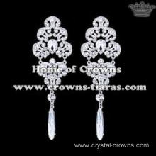 Alloy Crystal Wedding Party Earrings