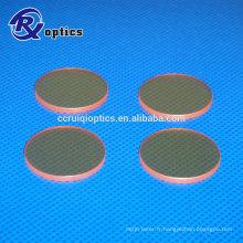 Objectif de focalisation laser ZnSe Co2 pour machine laser