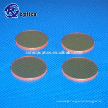 ZnSe Co2 Laser Focus Lens para máquina a laser