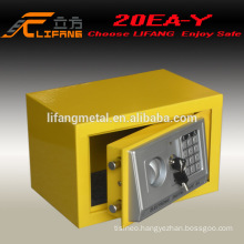 Popular sale cheap colorful digital home safe box 20EA