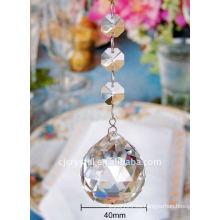 Moderna lámpara de bola de cristal