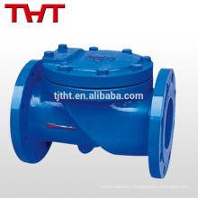 aleta de hule oscilante de hierro dúctil 1 2 en tipo aleta de válvula de retención
