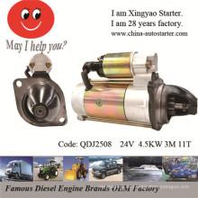 Boote und Schiffe Diesel Motorenteile 24V Motorstarter (QDJ2508)