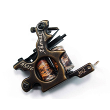 High Quality Coil Brass Carving Tattoo Machine Gun