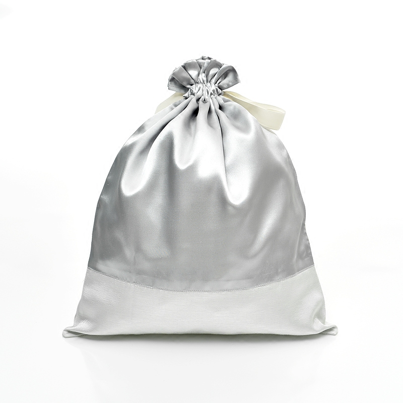 Satin Bag With Drawstring