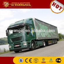 caminhões pequenos da carga do tipo do caminhão 4x2 IVECO do chinês mini para a venda dimensões do caminhão da carga 10t