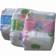 Hot Sale Soft Disposable Baby Diaper with Leak Guard