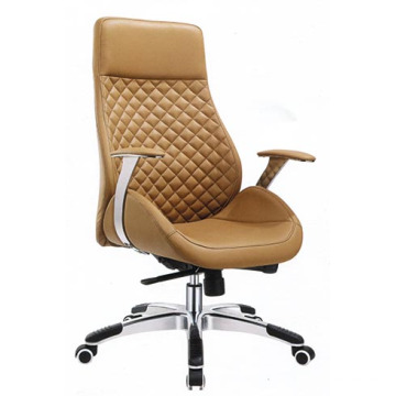 Chaise de bureau moderne en cuir de luxe moderne pivotante (HF-A1508)