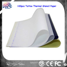 New Arrival 2015 Fashion 1 lot (100 Sheets) professional Paper Supply Tracing Copy Body Art Stencil A4 Tattoo Transfer Carbon