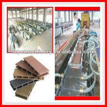 Máquina composta de plástico de madeira jiaozhou