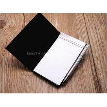 High Quality PU Note Pad for Business Gift