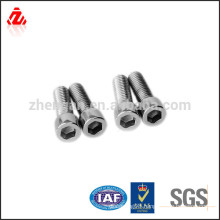 high quality stainless steel allen bolt material