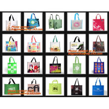 Sérigraphie impression 100g 80g tissu non tissé sac pas cher sac non tissé, shopper Style et sacs à provisions non tissés matériau non-tissé