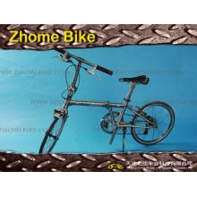 Vélo cyclo-pièces cadre et fourche/titane cadre de bicyclette pour plier le vélo Zh15tbf01