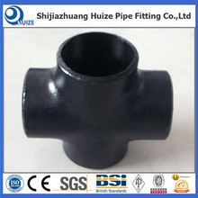 A234 WPB Cross Tube Pipe Fittings