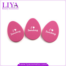 Wholesale beauty products make up sponge nbr with printing free samples