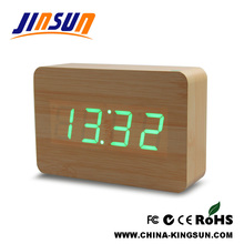 Square Model Digital Table Clock Led Light Display
