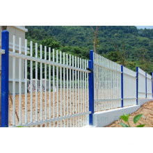 Assembled Iron Metal Aluminium Commercial Factory Guard Tubular Fencing