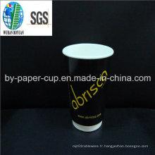 Convivialité de personnalisé de tasses en papier de gros