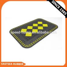 Coxim portátil resistente da velocidade do tráfego flexível / rampa de borracha da velocidade