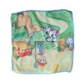 Barato personalizado material de microfibra crianças toalha, toalha impressa dos desenhos animados, toalha para crianças