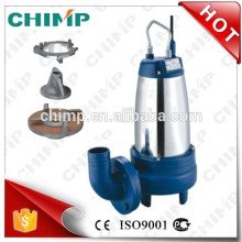 WQDK series single phase stainless steel submersible water pump for dirty water