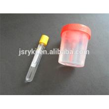 Tube à vide d'urine 9,5 ml / tube à essai / tube à vide