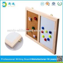 Eco-friendly custom com board with wood frame