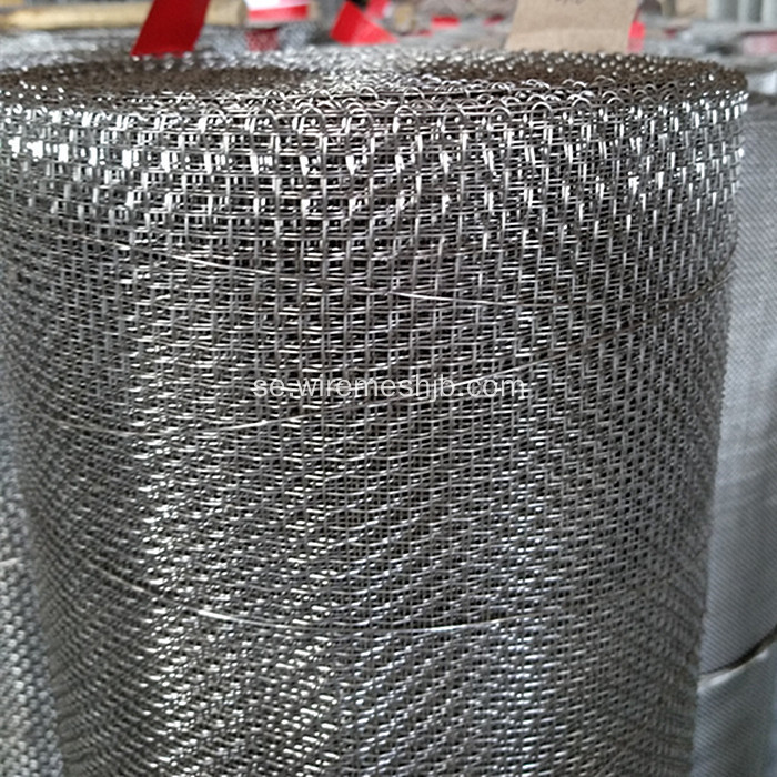 Rostfritt stål 304 Crimped Wire Mesh