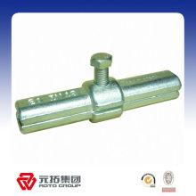 48.3mm Forjado Andamios Material interno Pin acoplador fabricante