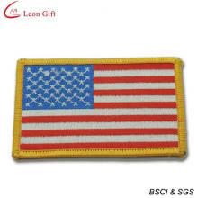 Venda quente EUA bandeira bordado Patches para lembrança (LM1565)