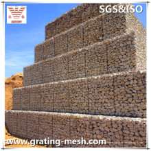 Cages soudées / galvanisées / en gabions pour murs de soutènement