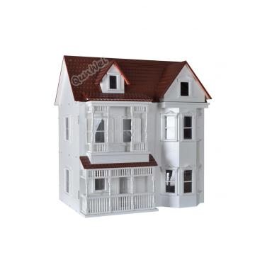 100% Original Factory for Wooden Dollhouse Kit 1/12 scale dollhouse kit in multicolor DIY decoration supply to Germany Factories