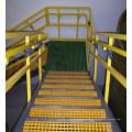 Стеклопластиковые ступени лестниц/ Stairstep, стеклоткань лестницы Крышка/стеклопластик Литой решетки