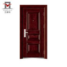 En gros alibaba chine prix du marché devant la porte en acier de sécurité