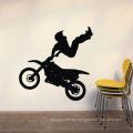 Home Wandaufkleber Hohe Qualität Durable Moto Man Design Pvc Room Decor Vinyl Wand Dekorative Aufkleber